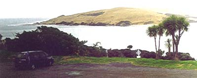 Hokianga Harbour from above Omapere